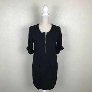 Collective Concepts Zip Front Shift Dress